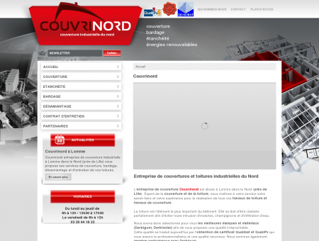 Entreprise de couverture industrielle à Lille :...