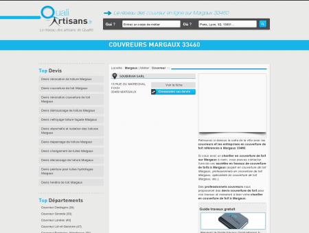 Couvreur Margaux 33460
