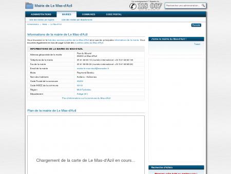 Mairie de Le Mas-d'Azil : informations et...