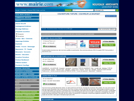 Couverture toiture / Couvreur Le Bourget :...
