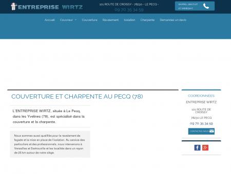 Couverture zinc Chatou - ENTREPRISE WIRTZ :...