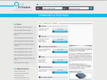 Couvreur Le Pecq 78230