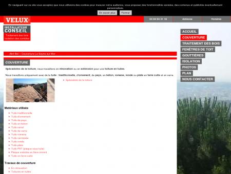 Couverture - Abri Bat à La-Seyne-sur-Mer...