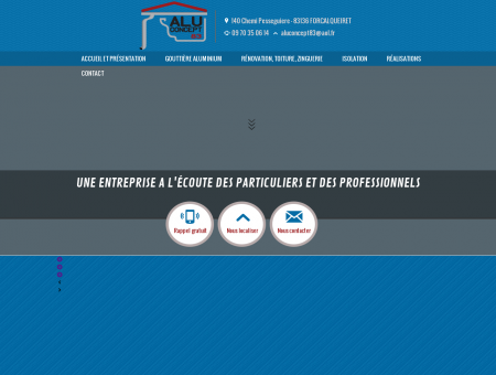 Gouttière Aluminium - La Seyne sur Mer |...