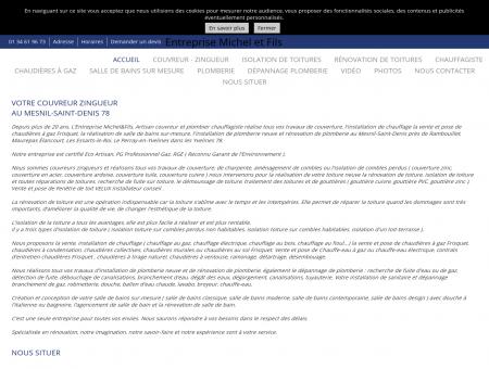 Couverture (entreprises) - Michel Etienne à Le...
