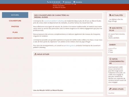 Couverture - Charpente - Isolation - Lisieux -...