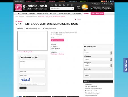 CHARPENTE COUVERTURE MENUISERIE BOIS -...