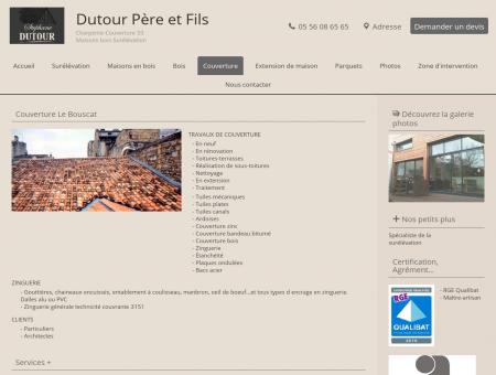 Couvreur Bordeaux - Dutour Père et Fils au...