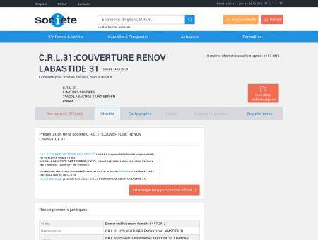 C.R.L.31:COUVERTURE RENOV LABASTIDE 31...