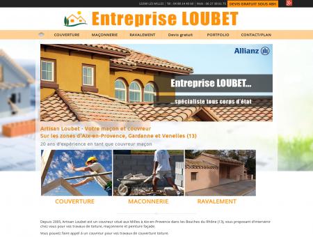 Artisan Loubet-Couvreur et maçon à Aix en...