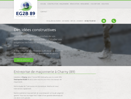 Maconnerie Charny - EURL EG2B 89 :...