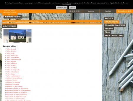 Couverture - Hamard Gilbert - à Juvigny-sous...