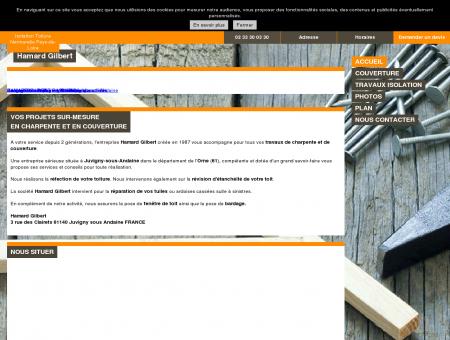 Hamard Gilbert - à Juvigny-sous-Andaine -...