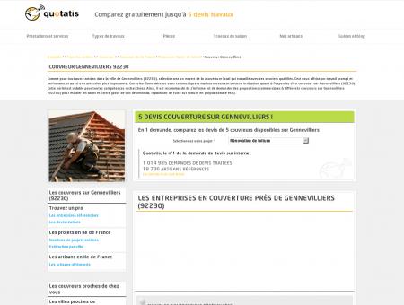 Couvreur Gennevilliers - 5 devis Couvreur...