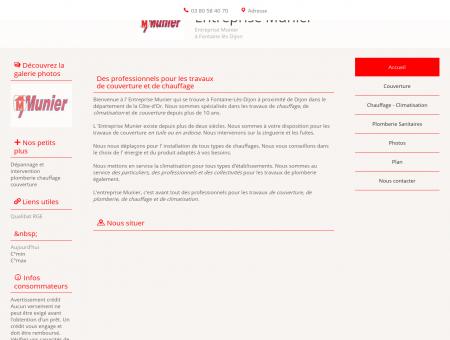 Couverture (entreprises) - Entreprise Munier à...