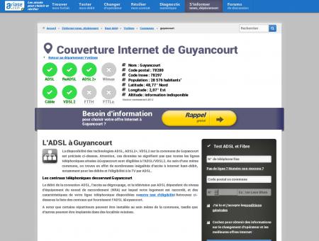 Couverture Internet de Guyancourt -...