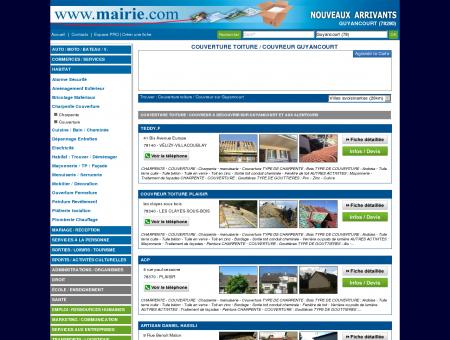 Couverture toiture / Couvreur Guyancourt :...
