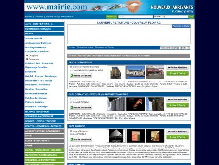 Couverture toiture / Couvreur Floirac :...