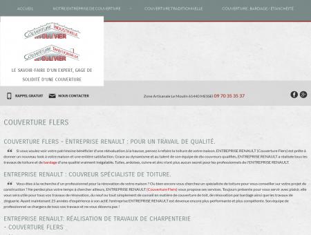 Couverture Flers - ENTREPRISE RENAULT