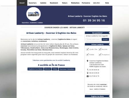 Couvreur Enghien-les-Bains - Artisan Lamberty...