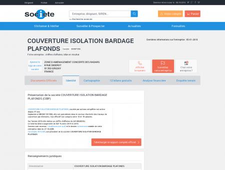 COUVERTURE ISOLATION BARDAGE...