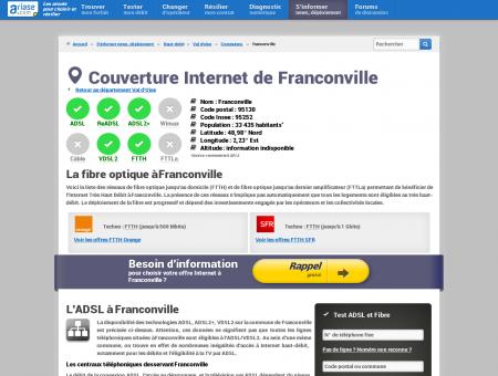 Couverture Internet de Franconville -...
