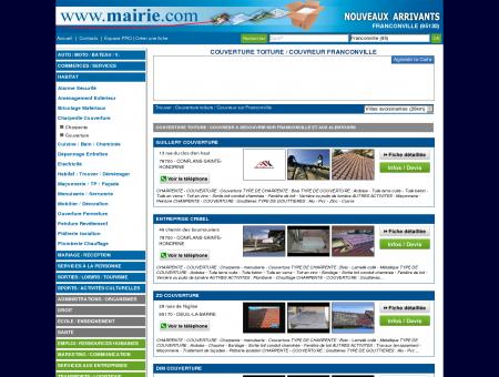 Couverture toiture / Couvreur Franconville :...