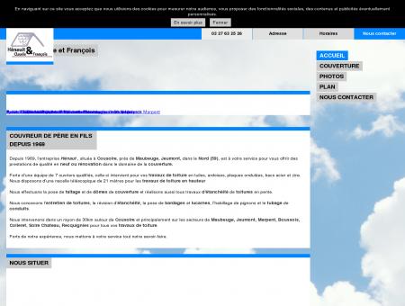 Couverture (entreprises) - Hénaut Claude et...