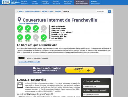 Couverture Internet de Francheville -...