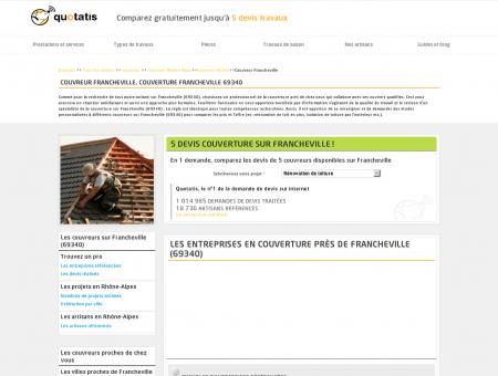 Couvreur Francheville, Couverture...