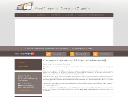 Charpente, couverture  Châtillon-sur...