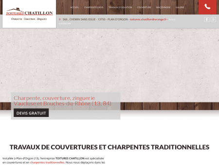Charpentier Plan d Orgon - TOITURES...