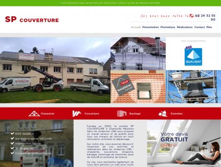 Accueil - SP Couverture à Charleville-Mézières...