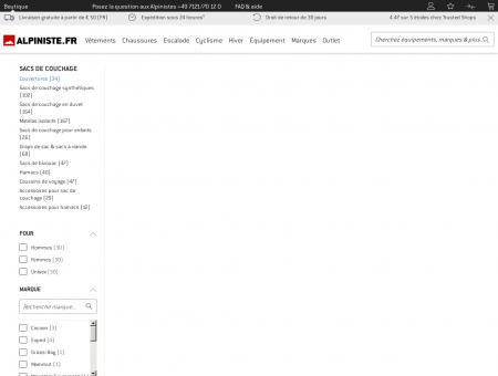 Magasin Couvertures - Acheter Couvertures en ligne.