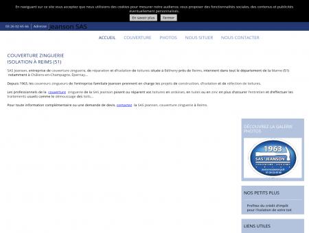 Couverture - SAS Jeanson à Reims 51