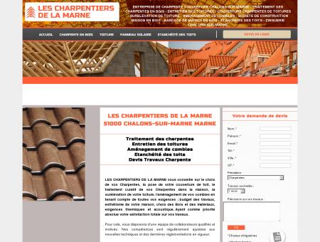 LES CHARPENTIERS DE LA MARNE 51000...