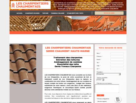 LES CHARPENTIERS CHAUMONTAIS 52000...