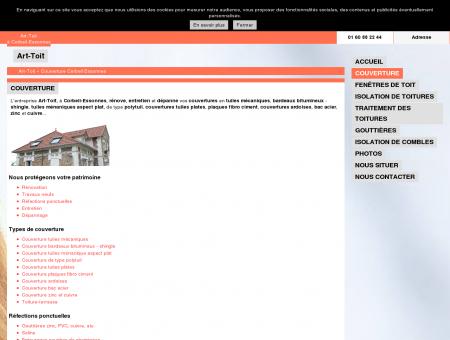 Couverture (entreprises) - Art-Toit à Corbeil...
