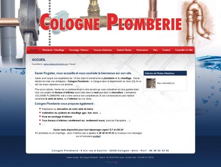Accueil - Cologne Plomberie - entreprise...
