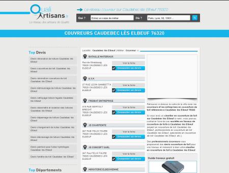 Couvreur Caudebec lès Elbeuf 76320