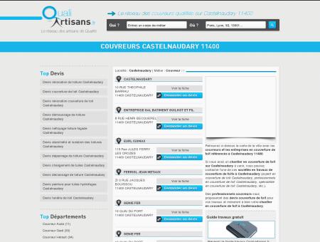 Couvreur Castelnaudary 11400