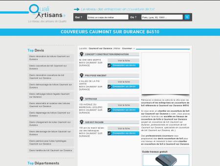 Couvreur Caumont sur Durance 84510