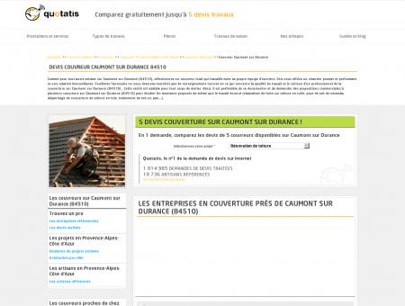 Travaux de couverture Caumont sur Durance,...