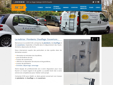 La maîtrise : Plomberie, Chauffage, Couverture...