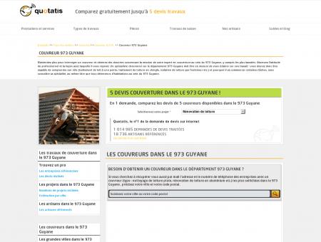 Couvreur 973, Entreprise travaux de...