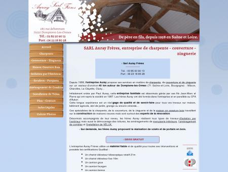 SARL Auray Frères, entreprise de charpente ...