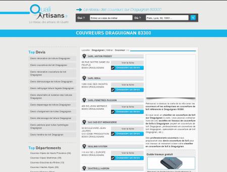 Couvreur Draguignan 83300