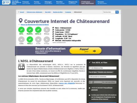 Couverture Internet de Châteaurenard -...