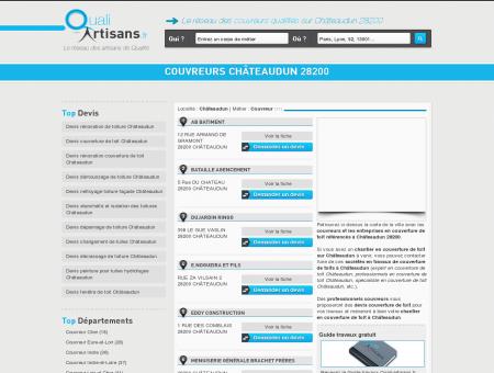 Couvreur Châteaudun 28200