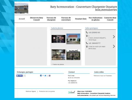Baty Conseil - Couverture Charpente Ossature...